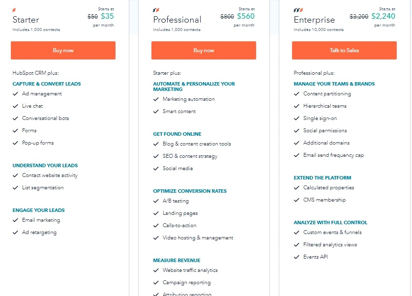 HubSpot-CRM-Pricing