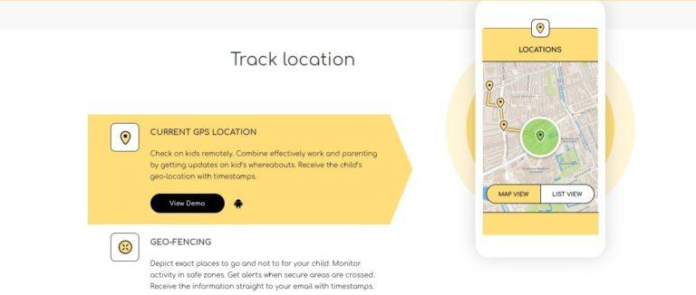 KidSecured-Track-Location